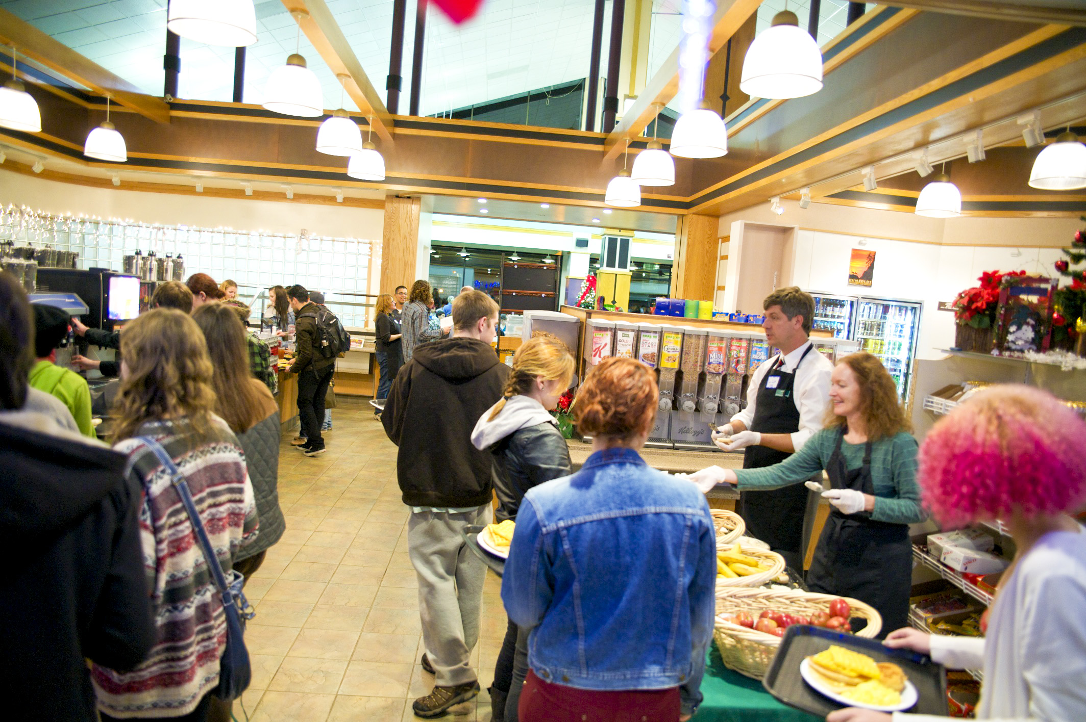 The Jolly Giant Commons Dining Service Area