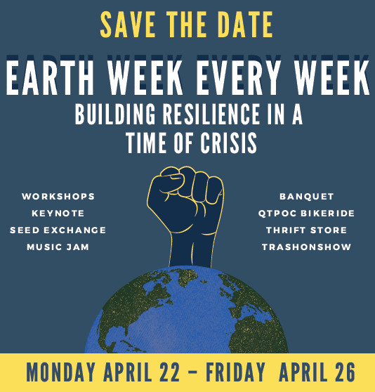 Save the Date - Earth Week 2019