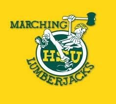Marching Lumberjacks logo